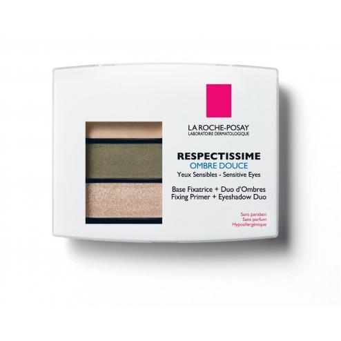 La Roche-Posay Fixing Primer + Eyeshadow Duo Smoky Vert