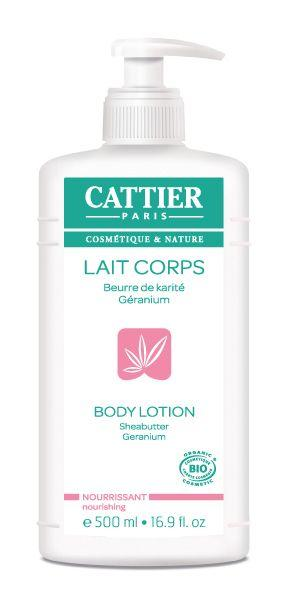 Cattier Body Lotion Beurre de karite Geranium