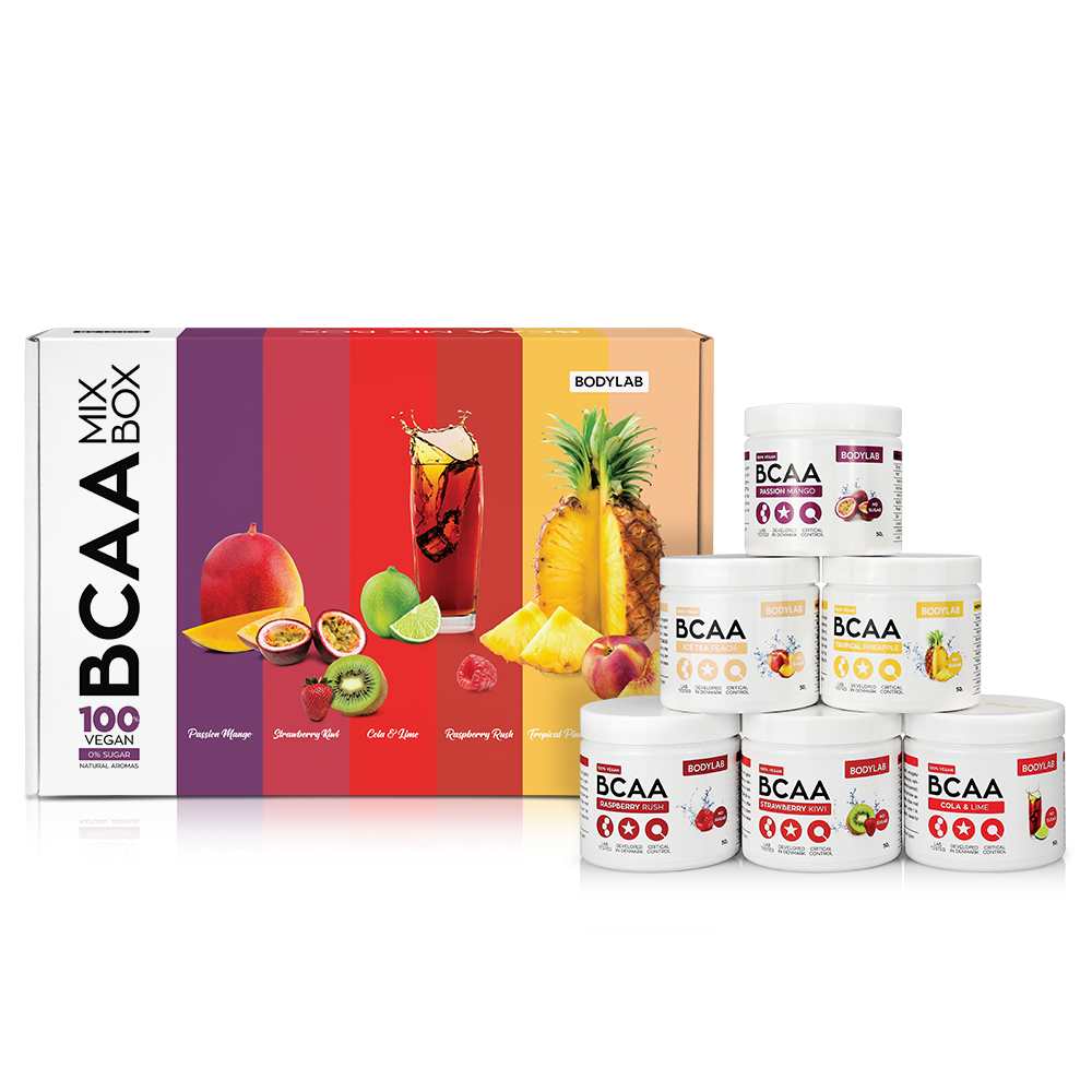 Bodylab BCAA Mix Box (6x50 g)
