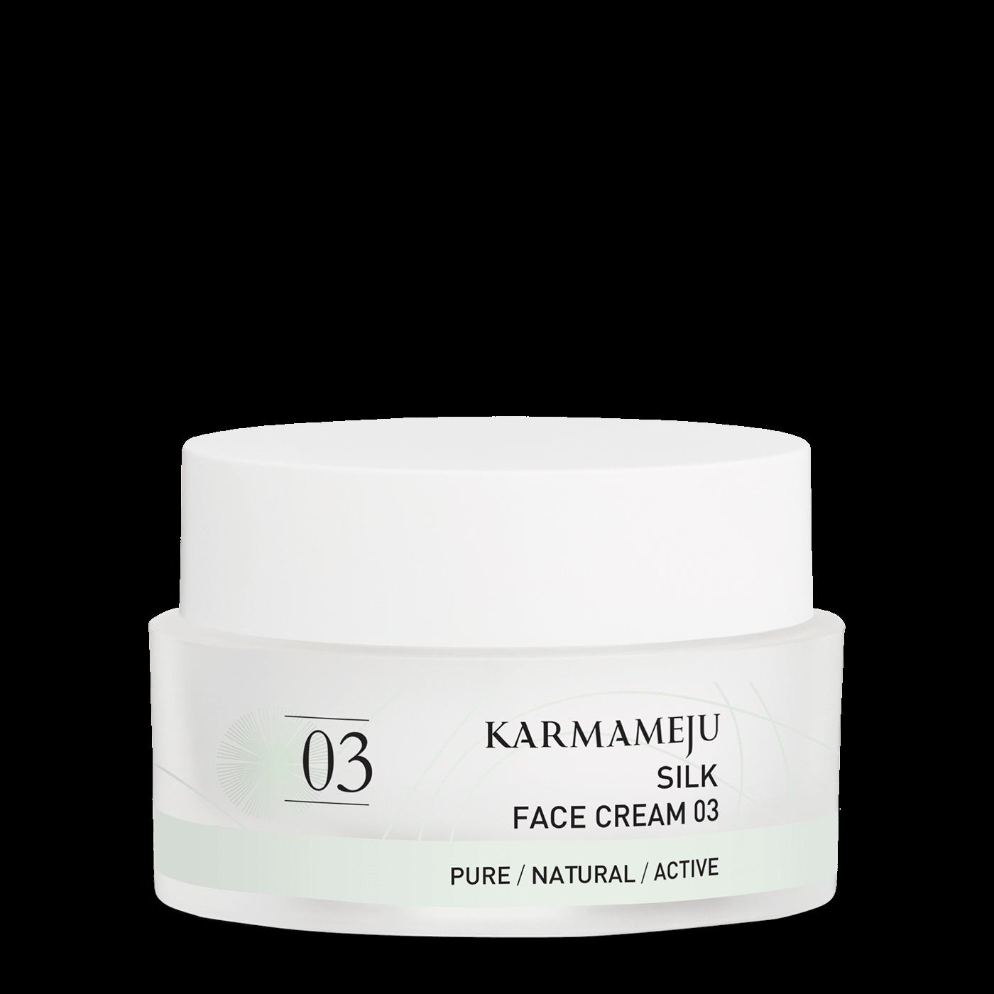 Karmameju SILK / ANSIGTSCREME 03