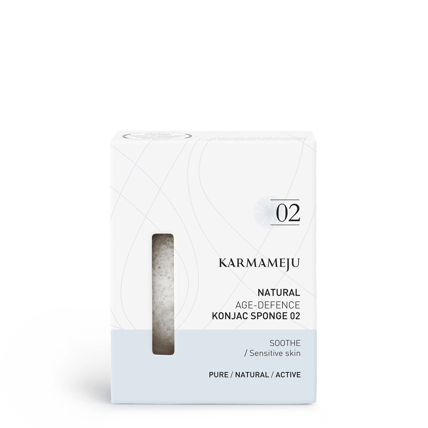 Karmameju NATURAL / KONJAC SVAMP 02