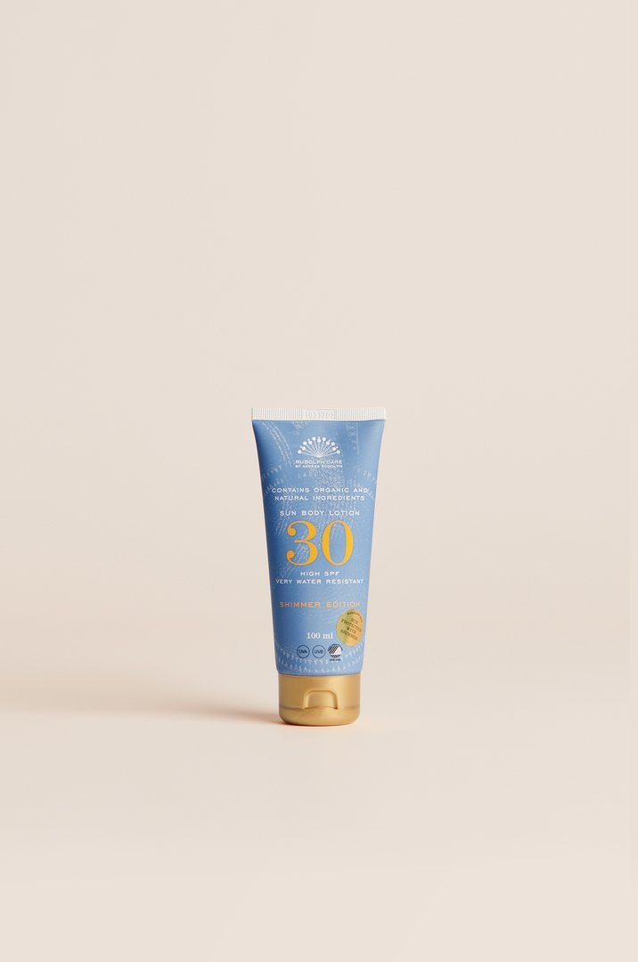 Rudolph Care Sun Body Lotion Shimmer Edition SPF 30