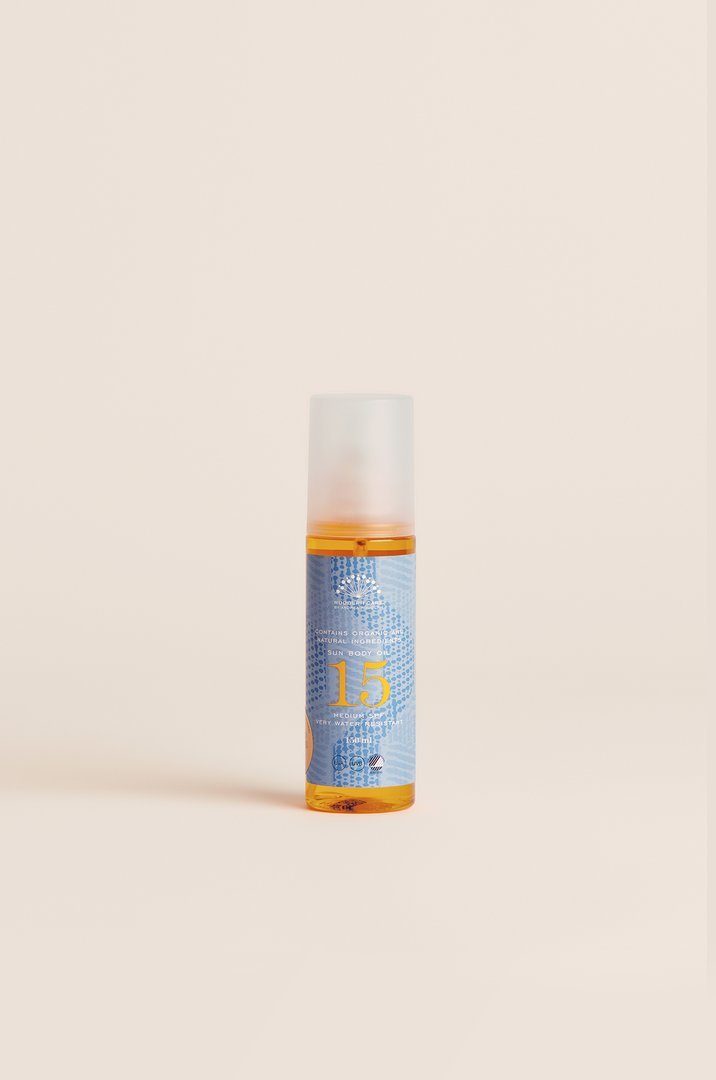 Rudolph Care Sun Body Oil SPF 15