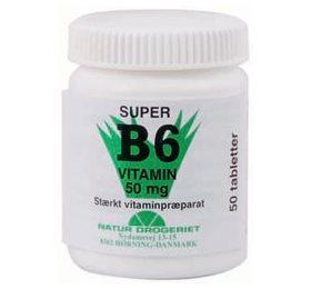 Naturdrogeriet B6 vitamin 50 mg