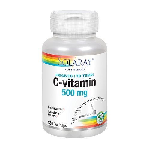 Solaray C-vitamin 500 mg