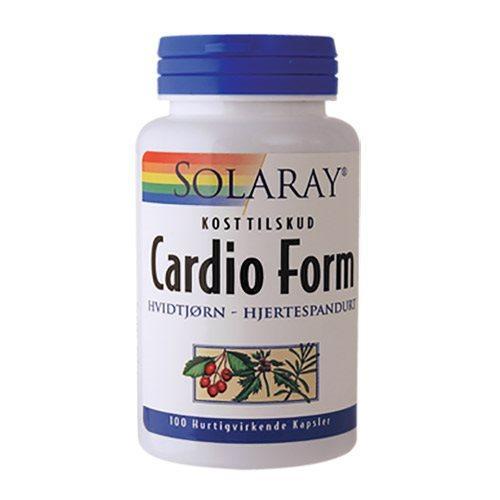Solaray Cardio Form