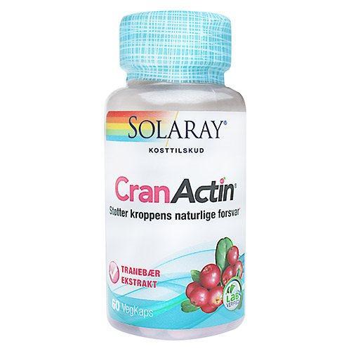 Solaray CranActin Tranebærekstrakt 400 mg