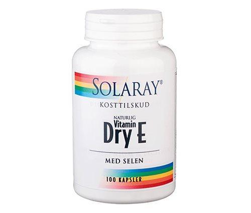 Solaray Dry E-vitamin med selen