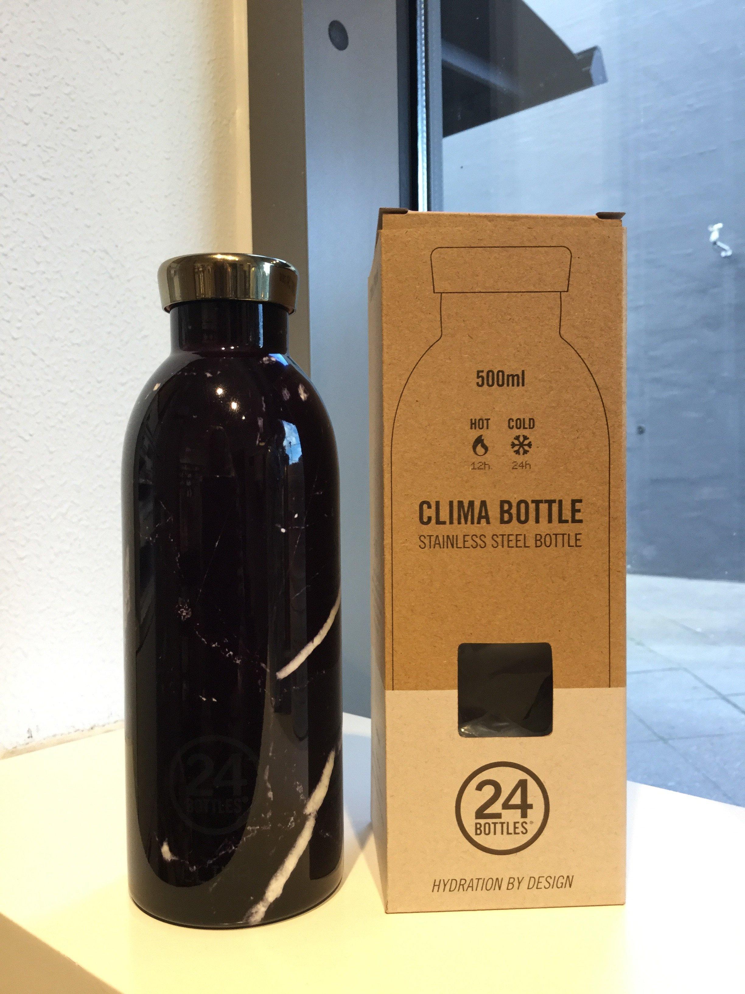 24 bottles 500 ml. Black Marble