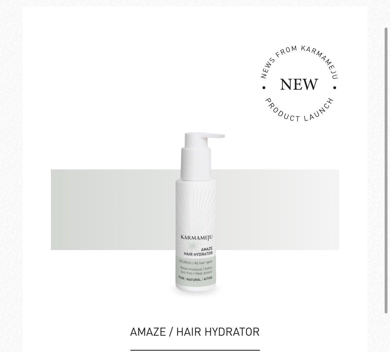 Amaze/Hair hydrater Karmameju
