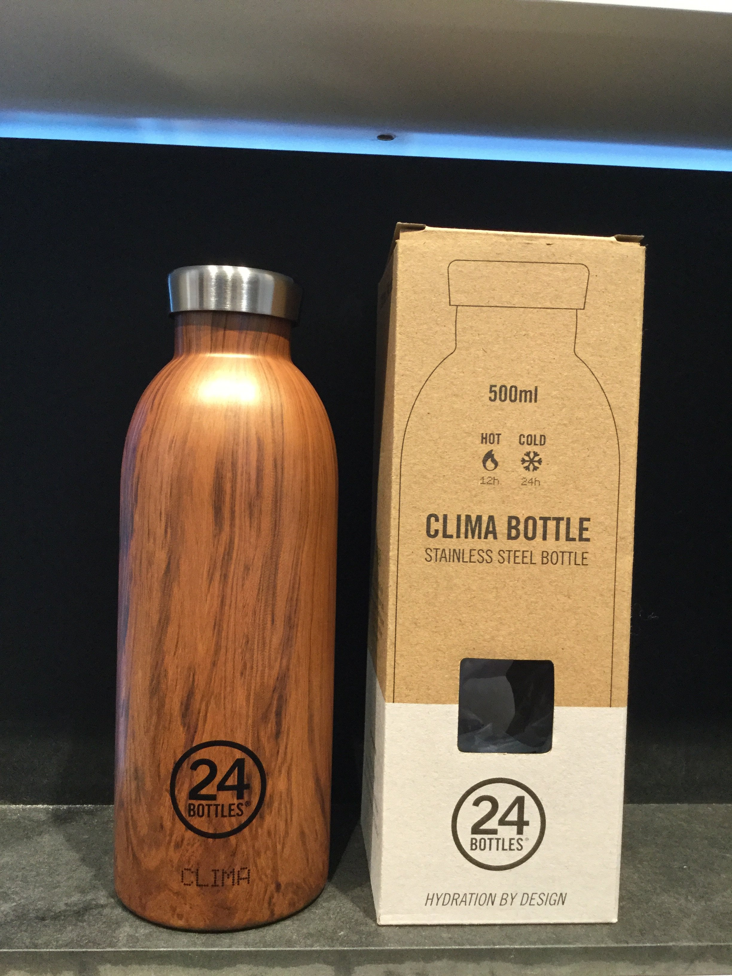 24 bottles 500 ml. Sequoia Wood