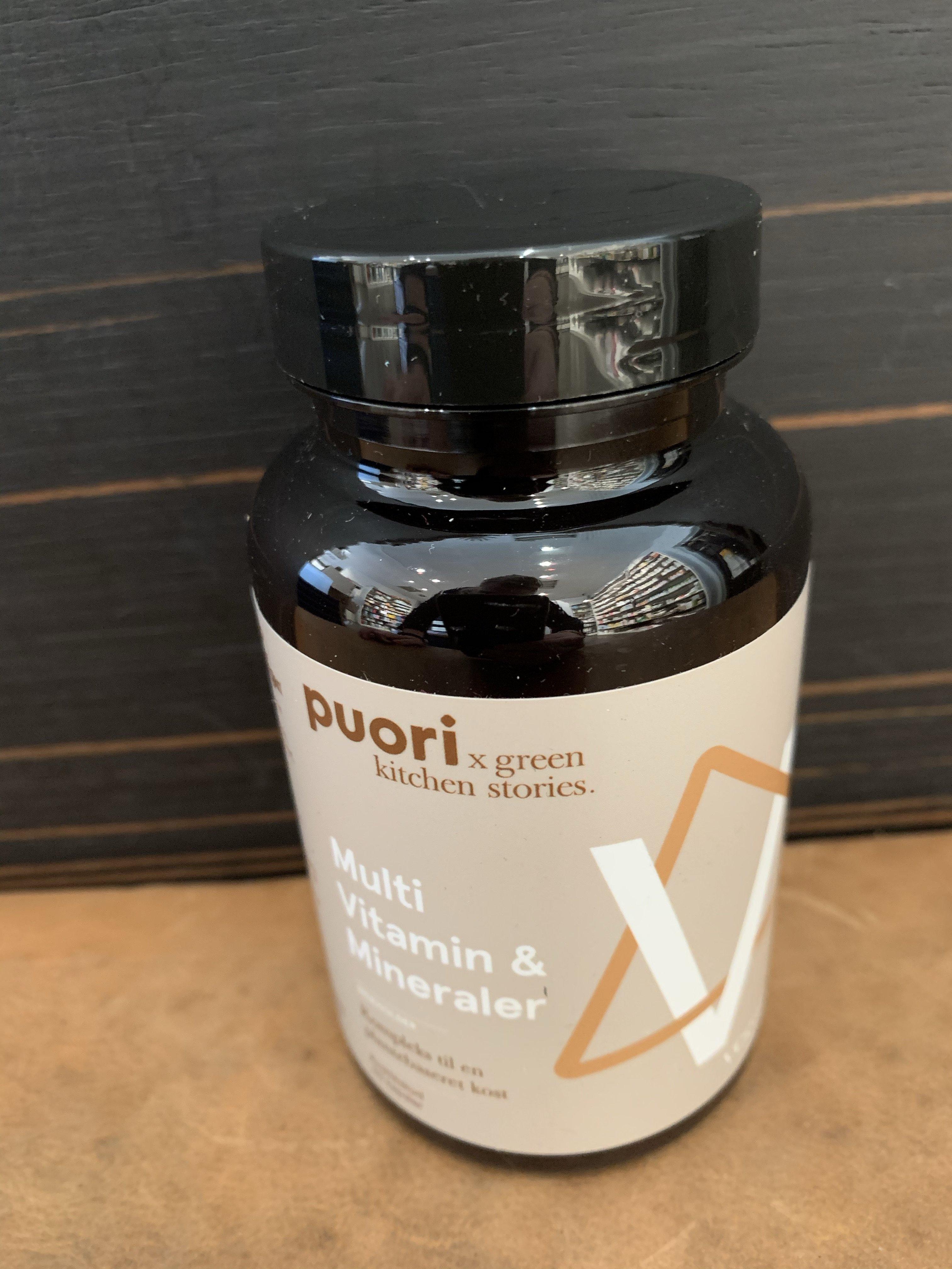 PUORI Multi vitamin&Mineraler