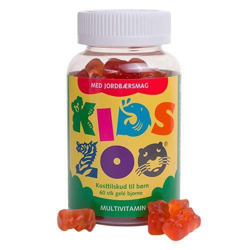 Kids Zoo Multivitamin jordbær