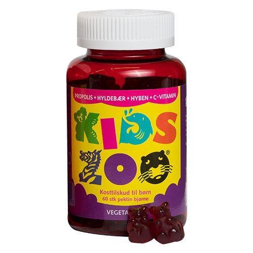 Kids Zoo Propolis + Hyldebær + Hyben + C-vitamin