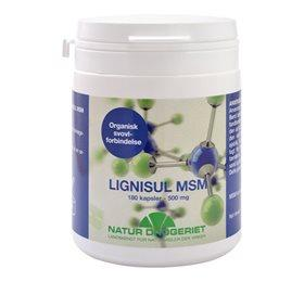 Naturdrogeriet Lignisul MSM kapsler 500 mg Til kosmetisk brug