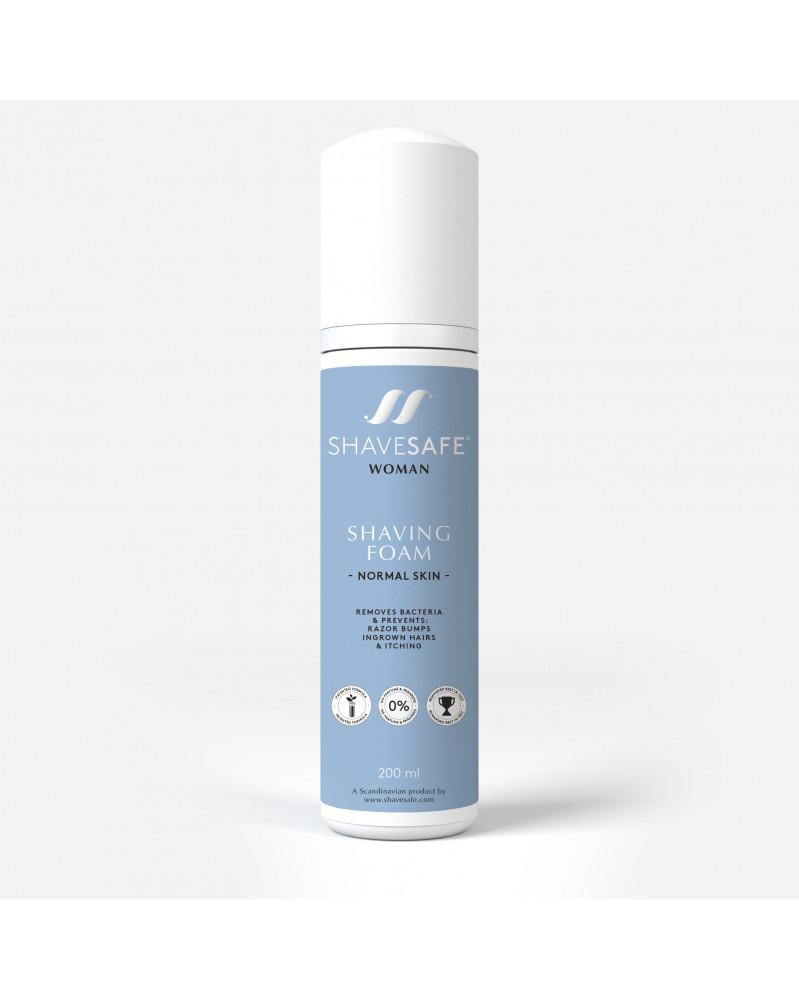 Shavesafe SHAVING FOAM - NORMAL SKIN 200ml WOMAN