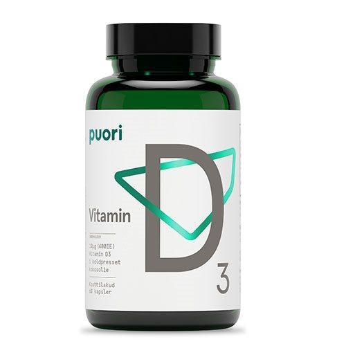 Puori Vitamin D3 10mcg i kokosolie