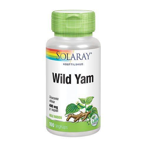 Solaray Wild Yam Root 400 mg